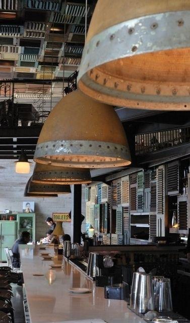 Клуб Potato Head #FAQinDecor #design #decor #architecture #interior #art #дизайн #декор #архитектура #интерьер