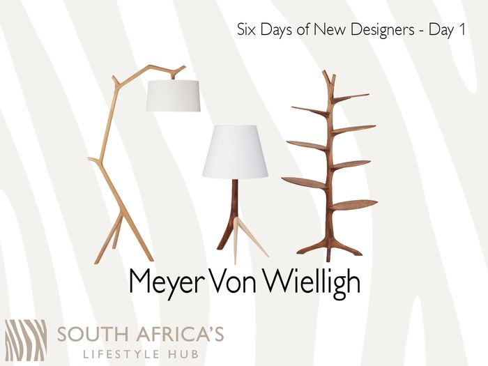 Meet our first artist and designer added to the SALH collection, Meyer Von Wielligh, combining workmanship excellence, creative ideas and the very best materials, Meyer von Wielligh works across a wide range of design styles – from ultra modern and clean finishing to the intricate detail of classic and traditional pieces. #SALH #6DaysofNewDesigners