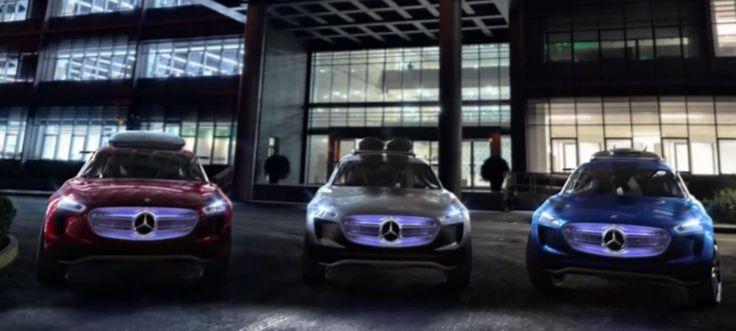 צפו ב-Mercedes-Benz Vision G-Code, רכב העתיד של מרצדס | כיכר השבת