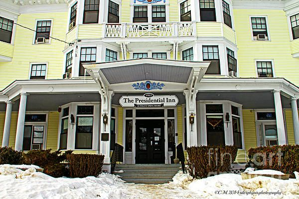 Presidential Inn in Poland Springs, Maine.