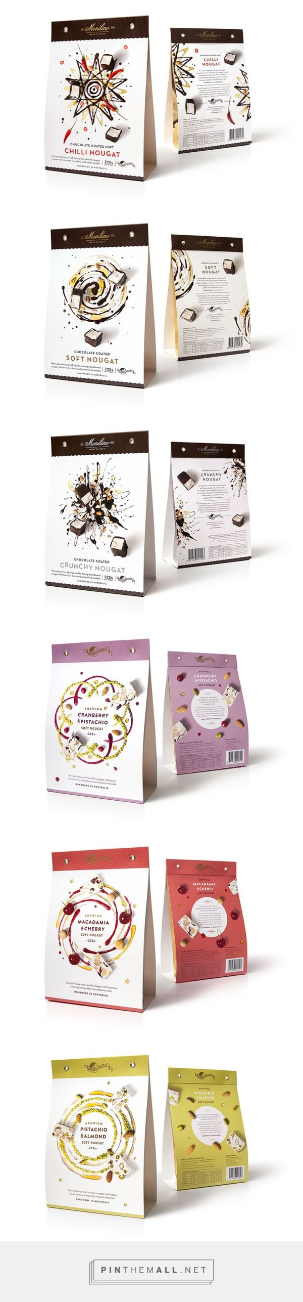 Nougat packaging design, food packaging design | Dessein - created via http://pinthemall.net