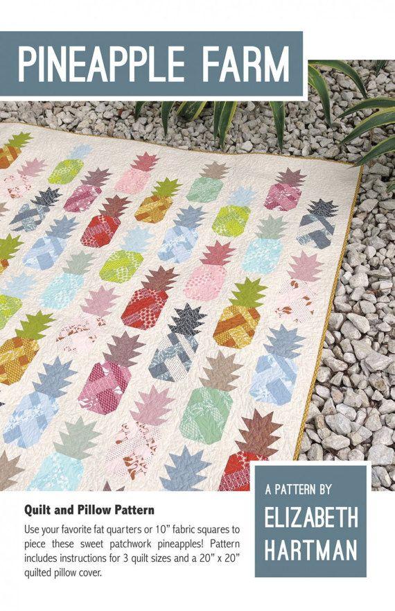 Pineapple Farm Quilt Pattern, #EH030 Elizabeth Hartman of Oh Fransson
