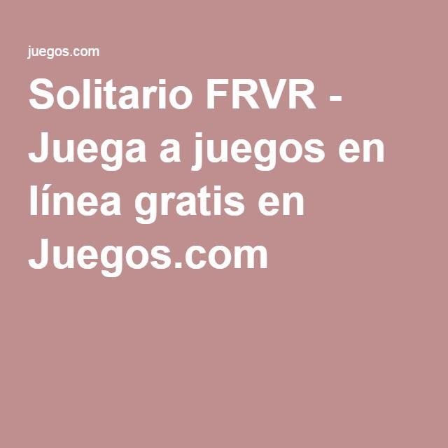 Solitario FRVR - Juega a juegos en línea gratis en Juegos.com