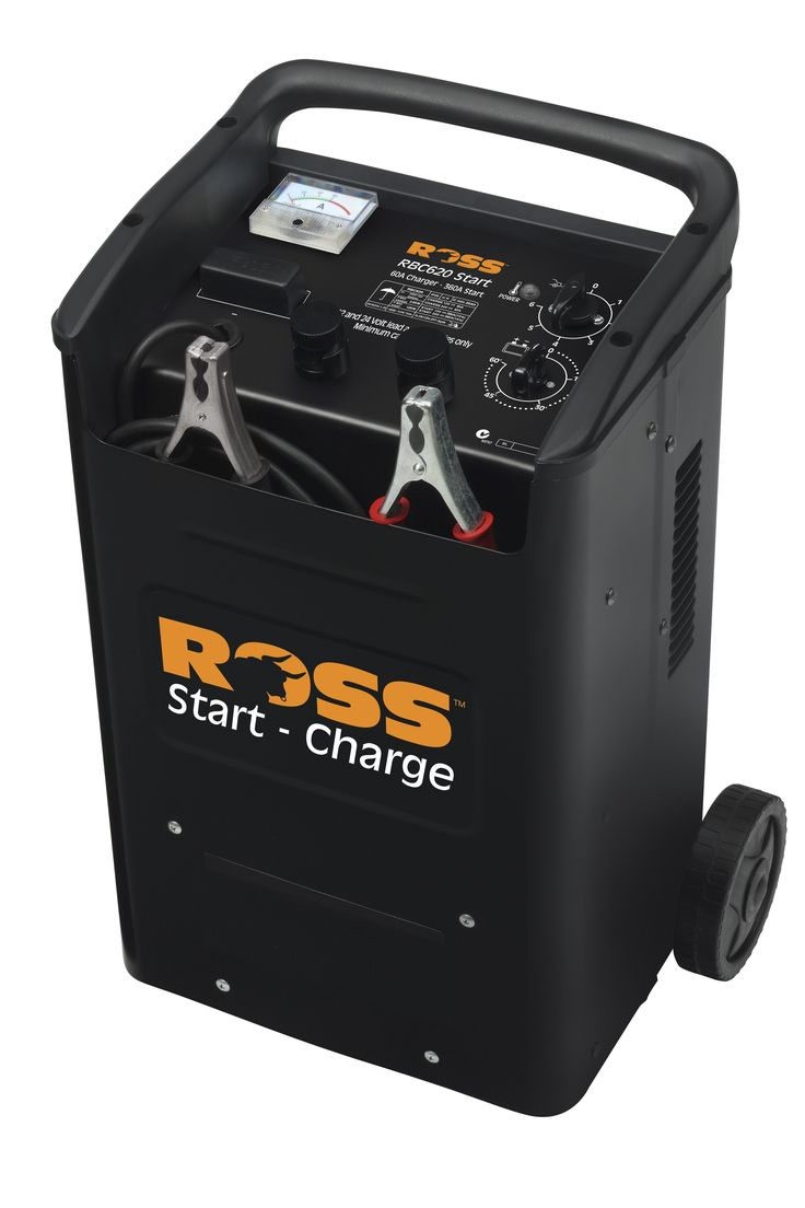 Battery Charger ROSS 60-amps 3-in-1 LOADED MODEL