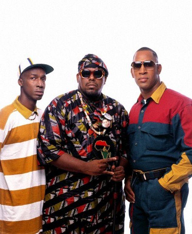 Legends of Hip-Hop: Grandmaster Flash, Afrika Bambaataa & DJ Kool Herc.