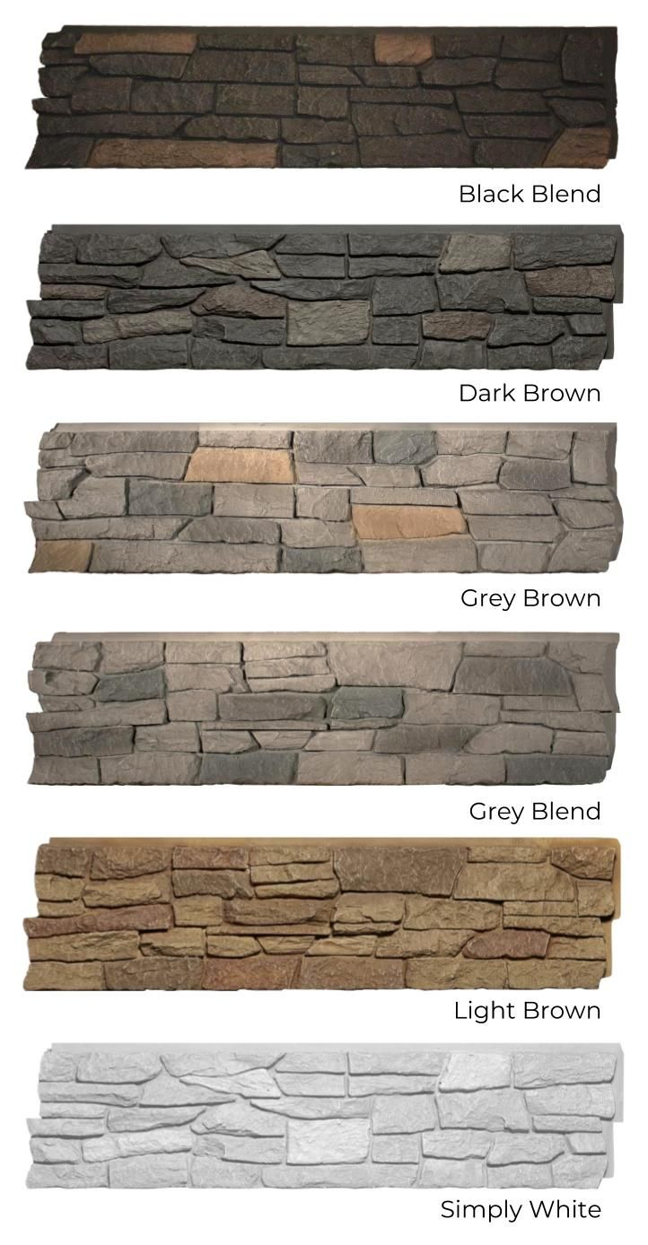 Quality Stone Ridge Stone All Colours Black Blend Dark Brown Grey Brown Grey Blend Light Brown Asp White Bedroom Brown And Grey Bedroom Industrial Chic