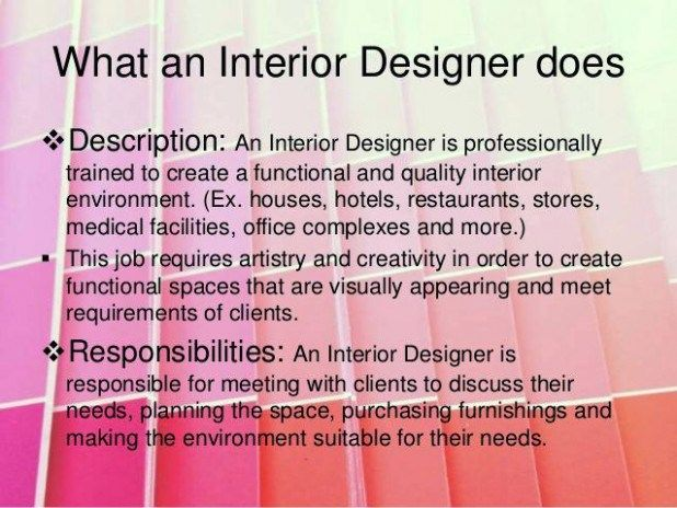 What Is Interior Design Course The Latest Trend In Designers Job Description And Salary