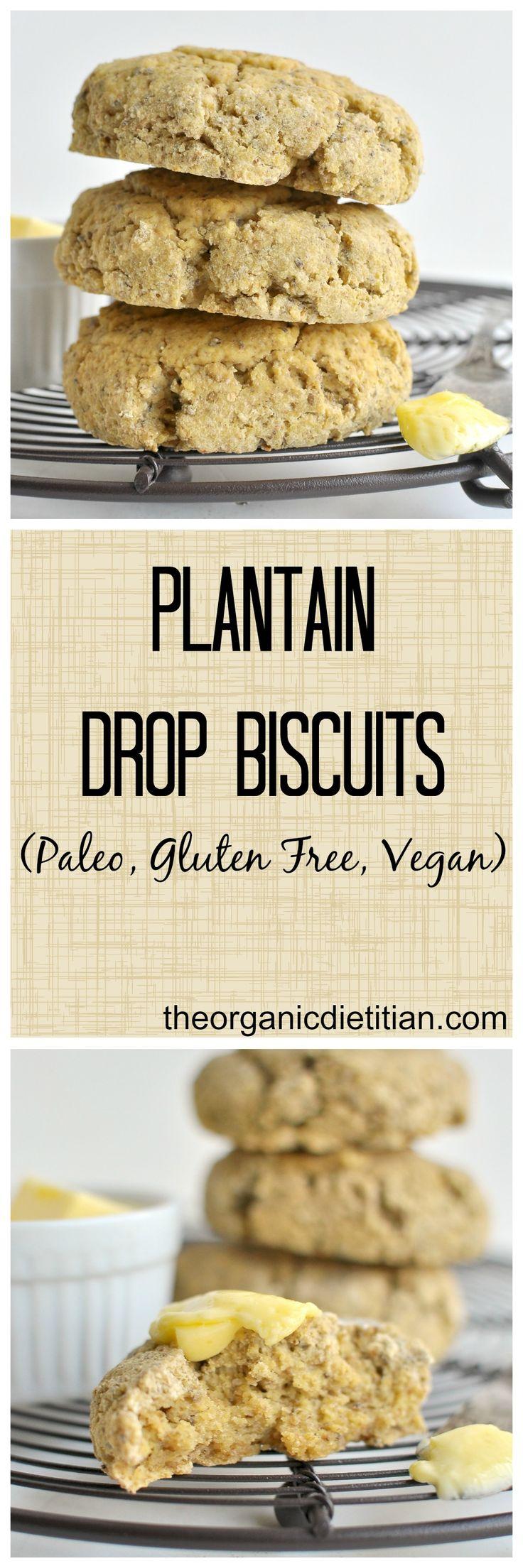 Vegan Plantain Drop Biscuits Recipe