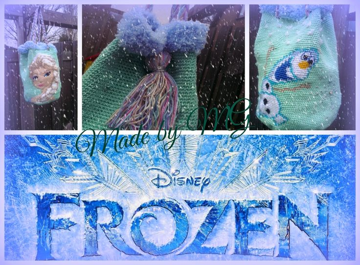 Haakpatroon van de tas FROZEN Made by MG