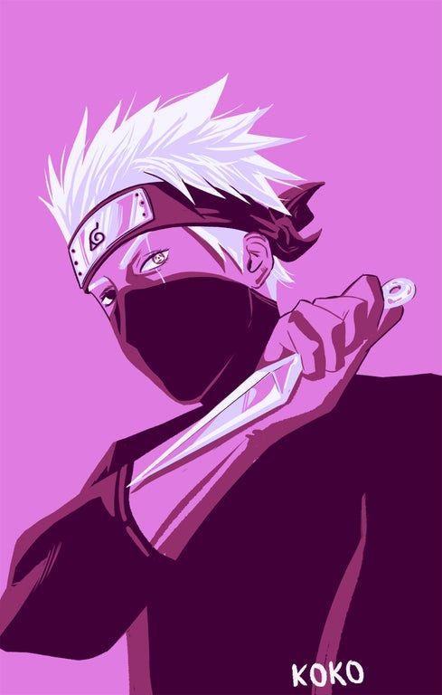 I drew Kakashi for a palette challenge :) : Naruto