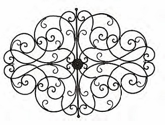 Wrought Iron Wall Art