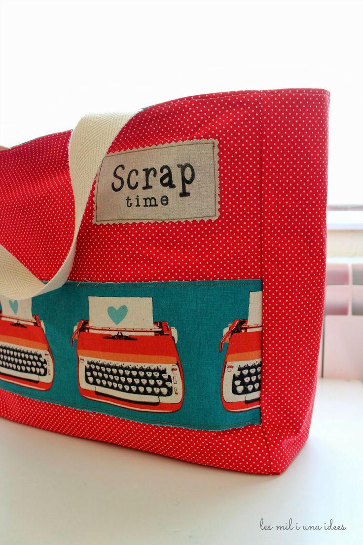 les mil i una idees: SCRAP Time Bag