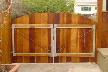 Adjust A Gate Overview New House Wooden Fence Gate