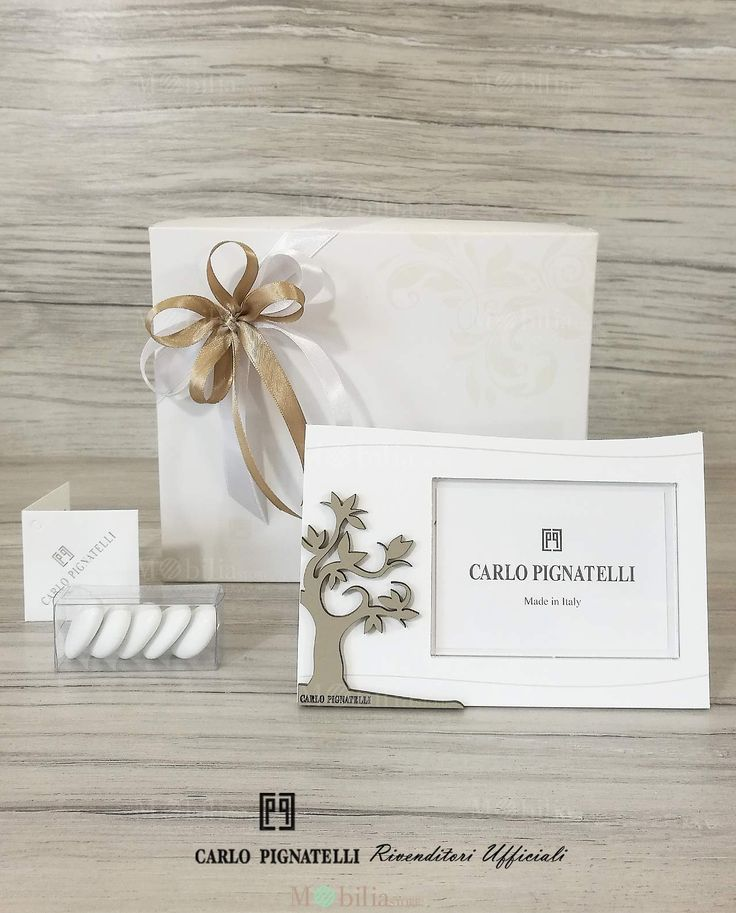 Bomboniere per Matrimonio Portafoto Albero della Vita Pignatelli, confezionato e pronto da dare ai vostri invitatI!