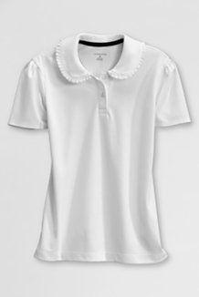 Girls School Uniform Shirts from Lands' End