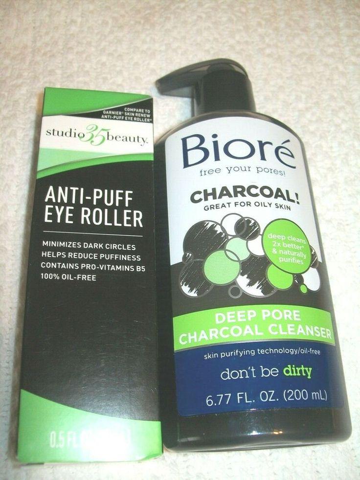 Biore Charcoal Deep Pore Cleanser 6.77 oz Studio 35 Beauty