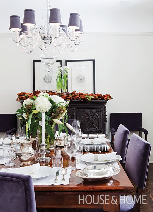15+ Party Ready Dining Rooms With Holiday Flair. Christmas Table  DecorationsChristmas Decorating ...