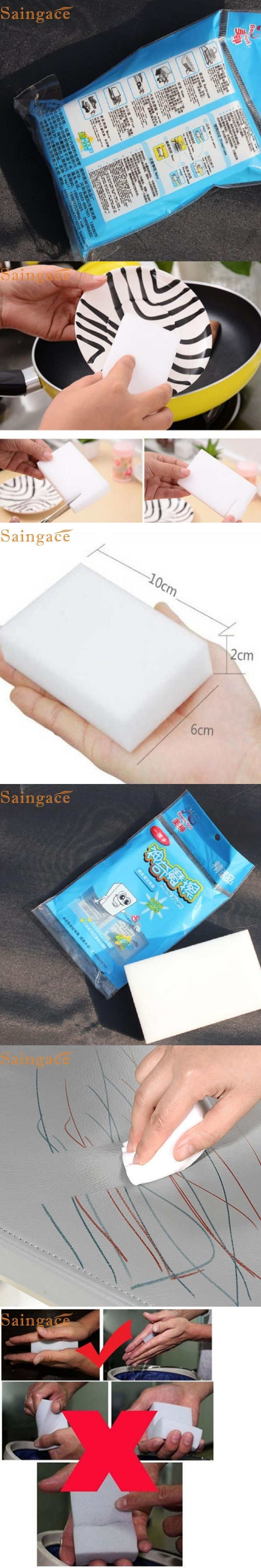 11.11 May 5 High Quality   10X Melamine Foam Magic Sponge Eraser Multi-functional Home Cleaning Cleaner Pad