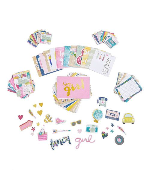 Look at this Simple Stories So Fancy 118-Piece SN@P! Pack on #zulily today!