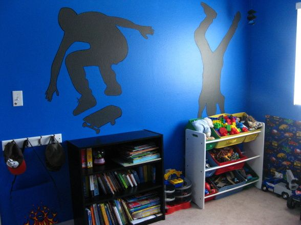 ... Cool Skateboard Bedroom For Popular Teen Skateboard Bedroom Skateboard  Bedroom Kids Bedroom ...