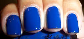 Hasil gambar untuk blue nail polish