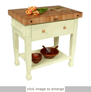 Portable Butcher Block Love This One For A Small Kitchen