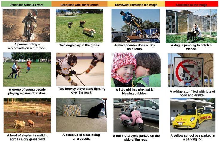 Компания Google разработала систему, которая может описать любое изображение понятным языком