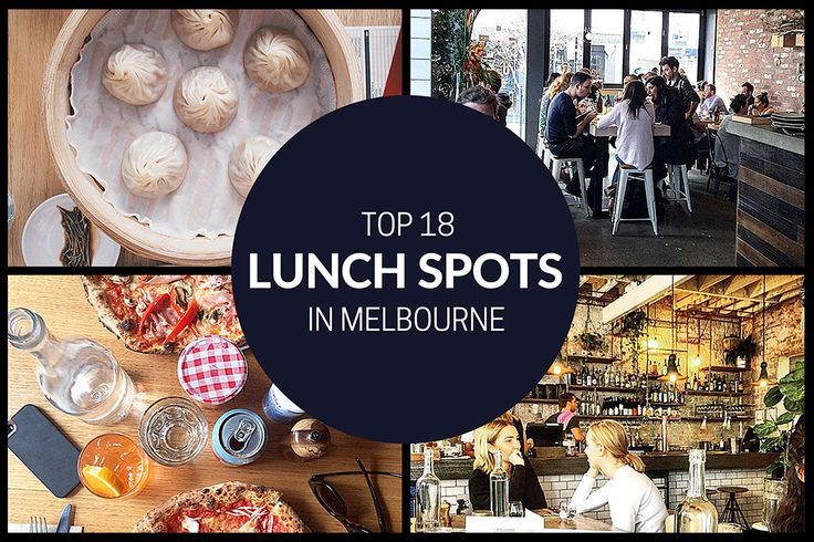 Top 18 Lunch Spots in Melbourne - MELBOURNE GIRL - is there anything better than doing a long lunch with the girls in Melbourne?