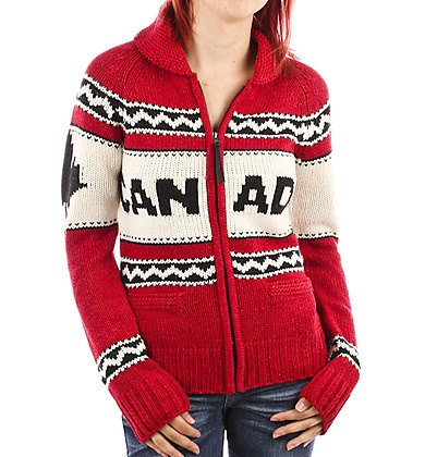Girl Canada Cowichan Sweater - want this in charcoal!