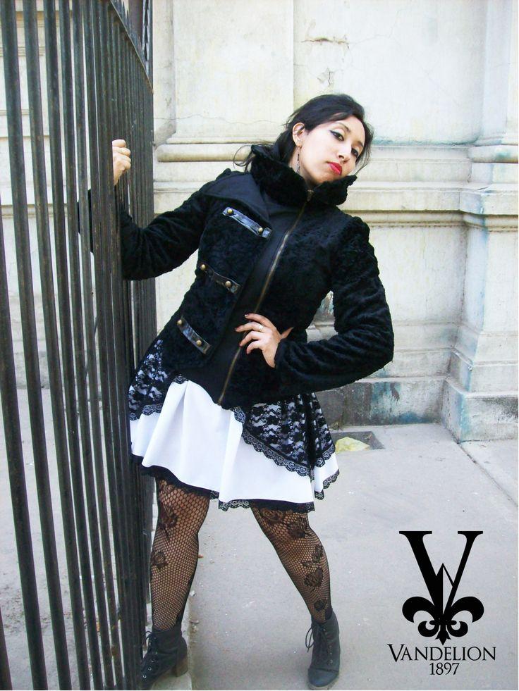 Jacket, skirt and jewerlry by Vandelion 1897 Model: V.K Muñoz (VladiNoctem)