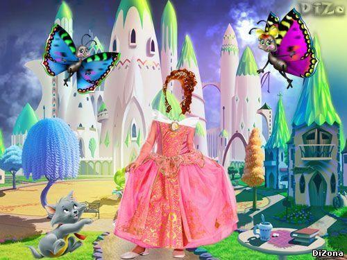 Программа фотошоп вставить лицо ребёнка в костюм принцесы