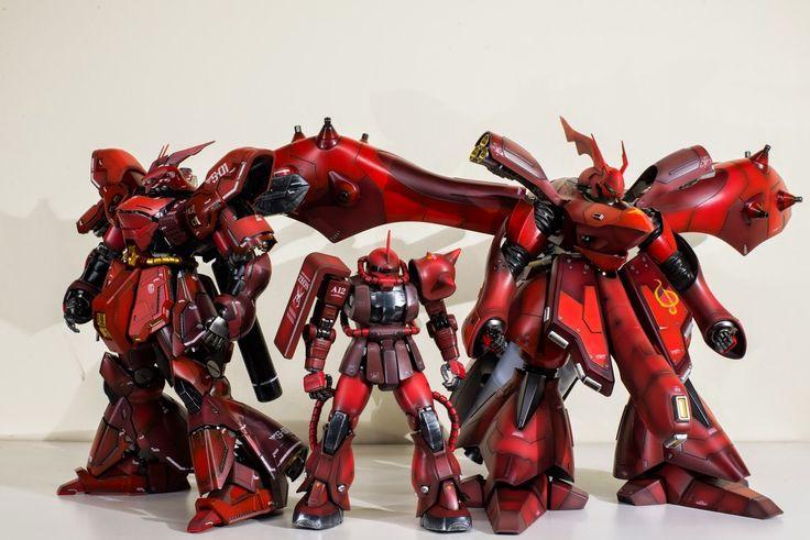 Custom Build: RE/100 MSN-04II Nightingale - Gundam Kits Collection News and Reviews