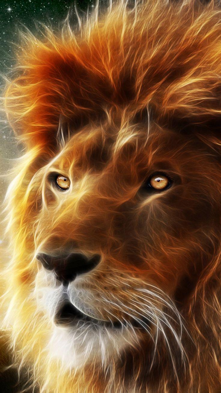 Lion Animation Wallpaper Hd Iphone Lion Pictures Lion Wallpaper Lion Art