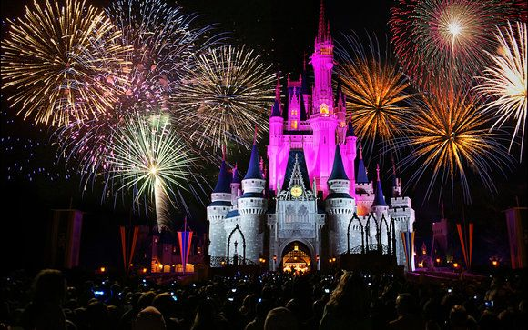Watch Disney Fireworks outside the park!