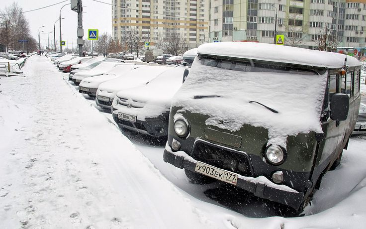 как заводить машину в мороз