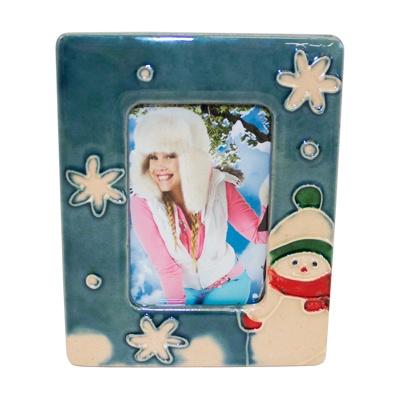 Rama foto omulet - 8 RON    O rama foto pentru birou, din ceramica. Un accesoriu potrivit pentru biroul tau in perioada sarbatorilor de iarna.