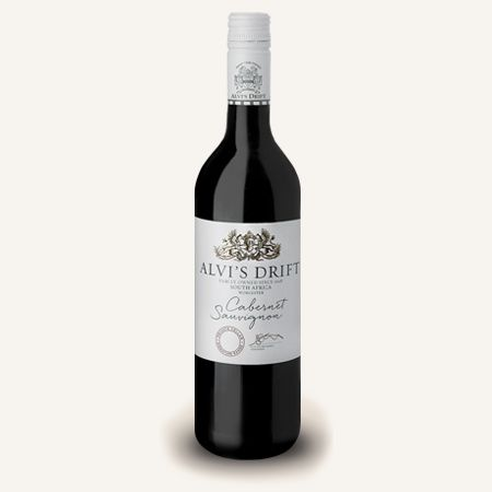 Alvi's Drift cabernet sauvignon has a lovely medium dark colour with a garnet hue. The nose shows blackberry fruit characters with hints of vanilla, chocolate and Christmas cake. The palate is medium bodied with balanced tannins giving the wine a firm yet soft finish. Ideal with roasted and barbecued meats and pasta dishes. #SouthAfricanWine #CabernetSauvignon #RedWine