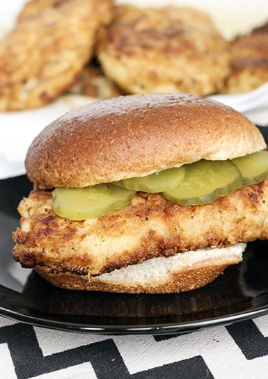 You have to try our Chick-Fil-A copycat chicken sandwich!  Taste just like the real thing but with  less calories!