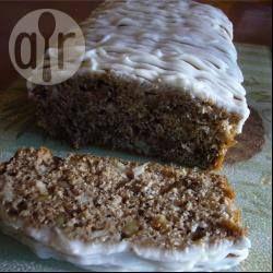 Apfel Walnuss Kuchen / Dieser laktosefreie saftige Apfelkuchen wird in einer Kastenform gebacken. Das Rezept ergibt zwei Kuchen, einen davon kann man gut auf Vorrat einfrieren. @ de.allrecipes.com