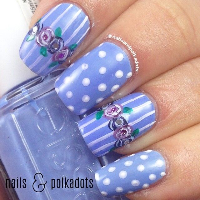 Instagram photo by nailsandpolkadots #nail #nails #nailart