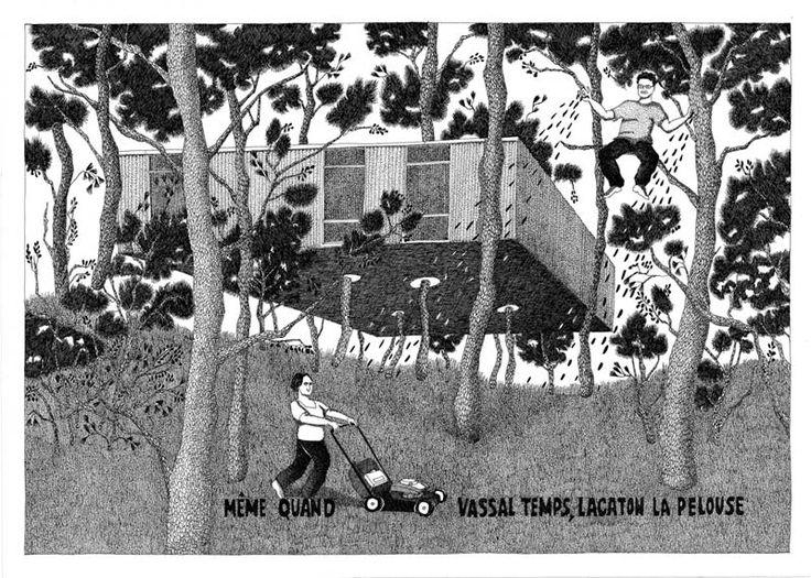 Diane Berg / Même quand Vassal temps, Lacaton la pelouse.