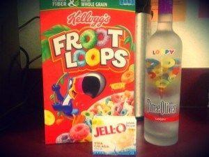 Fruit Loops Jello Shots