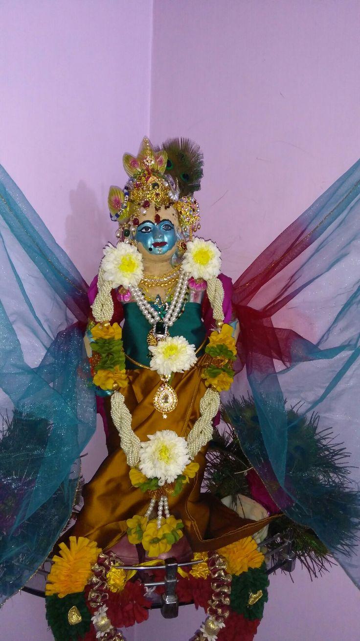 Celebrations of Sri Krishna Janmashtami in my home 2017