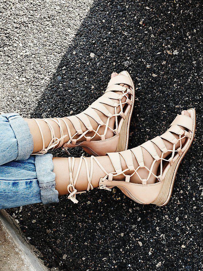 Free People Amara Lace Sandal, AU$219.22  Want these so badddd ugh