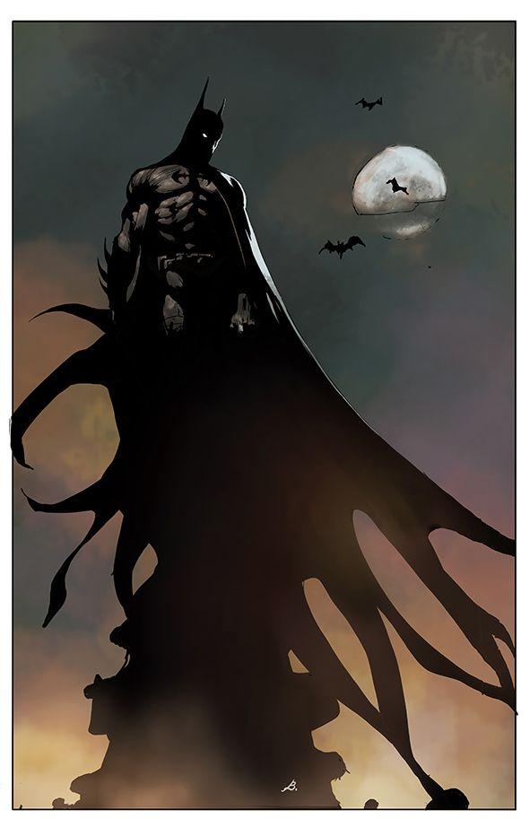 Batman by obazaldua