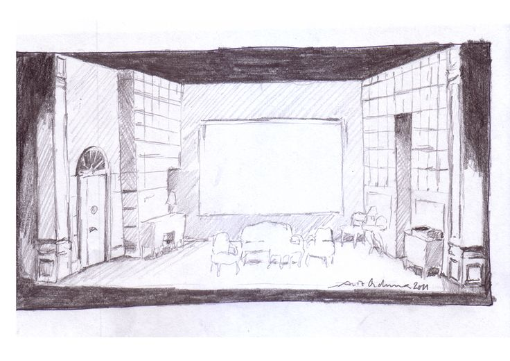 bocetos escenografia - Buscar con Google