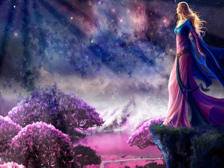 Mystical beauty