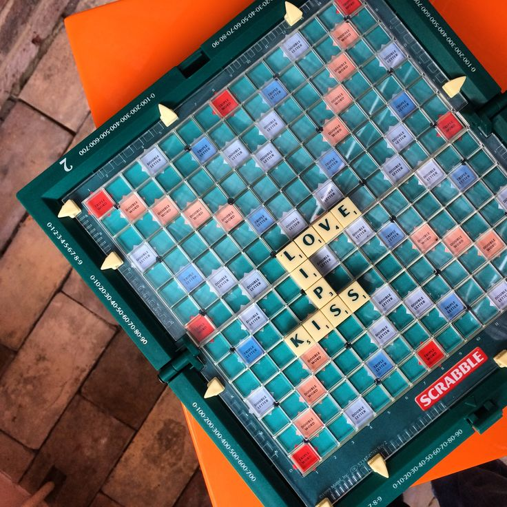 Nothing wrong with a bit of love - Keep Cottage Suffolk leads the way #scrabble