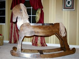 How to Build a Child's Wooden Rocking Horse