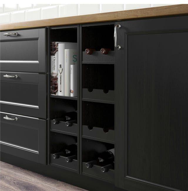 Best Ikea Stenstorp Kitchen Island Dark: The 25+ Best Black Ikea Kitchen Ideas On Pinterest